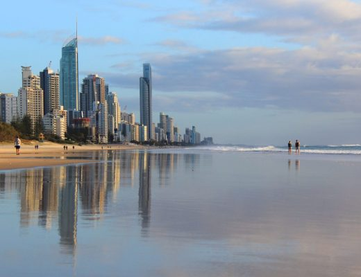 Surfers Paradise reflections
