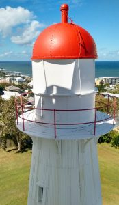The original Caloundra Lighthouse