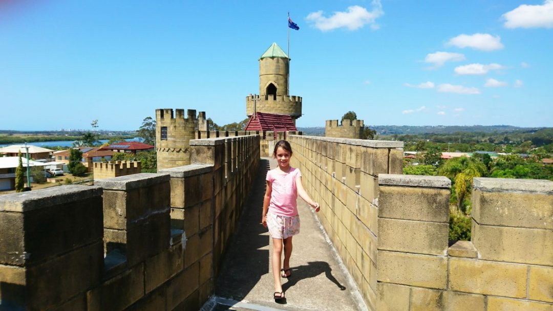 Discovering Sunshine Castle in Bli Bli.