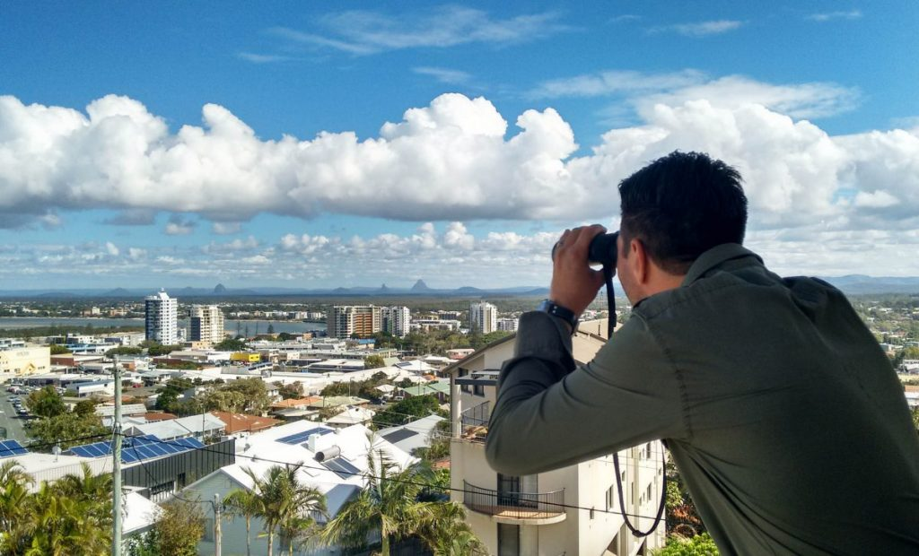 Caloundra Lighthouses: The view from the Signal Station