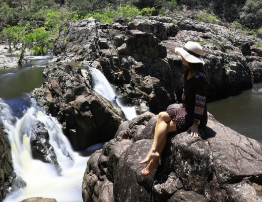 SUNSHINE COAST WATERFALLS: Wappa Falls