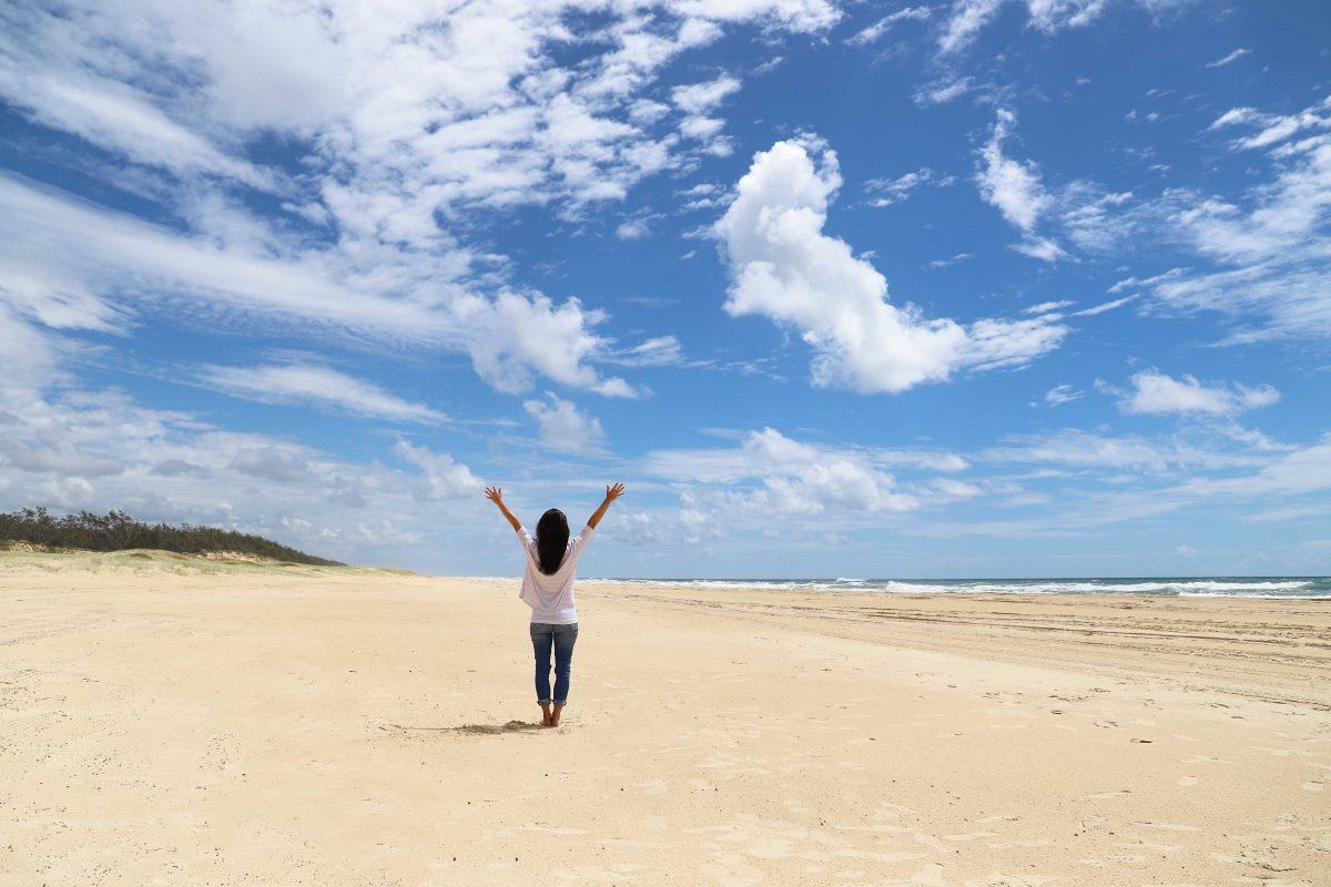 Fraser Island: 75 Mile Beach