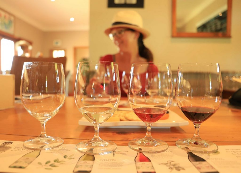 Enjoy a family-friendly wine tasting at Scarborough Wines