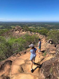Hiking Mt Ngungun with kids