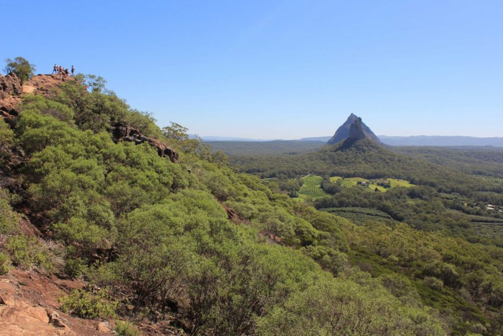 the view from Mount Ngungun.