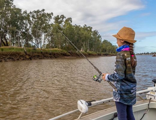 Fishing the Fitzroy River